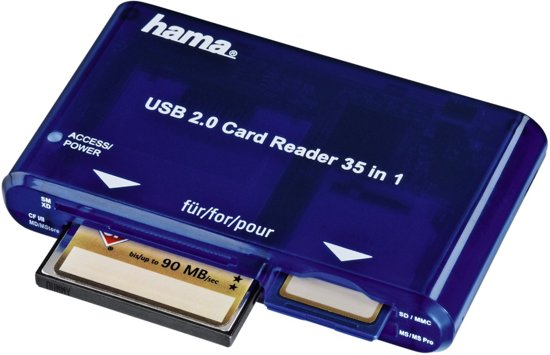 Hama 35-In-1 Card Reader USB 2.0