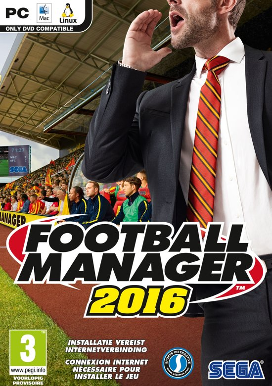 Football Manager 2016 - Windows + MAC