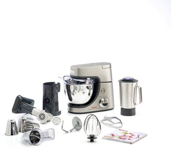 Tefal Masterchef Diecast Premium QB602H - Keukenmachine - Zilver