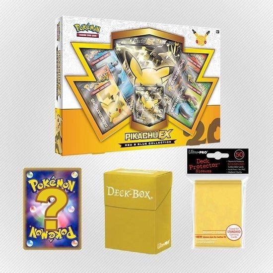 Afbeelding van het spel Pokemon kaarten TCG - Pikachu EX - Yellow Set