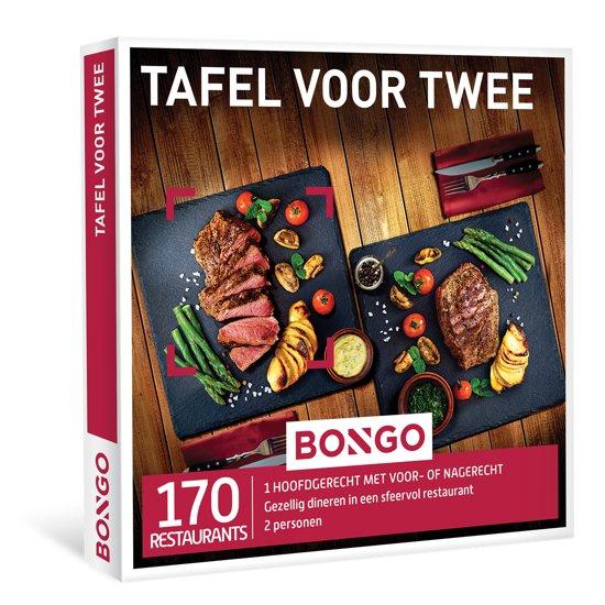 BONGO - Tafel voor Twee - Cadeaubon