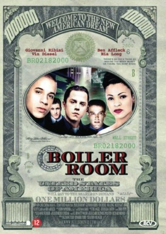 Cover van de film 'The Boiler Room'