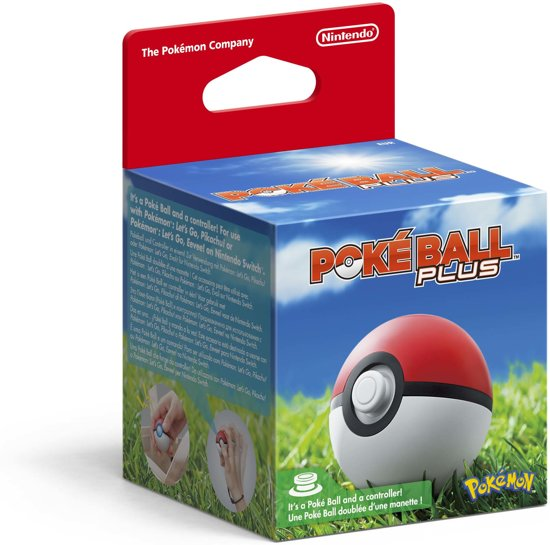 Cover van de game Poké Ball Plus - Nintendo Switch