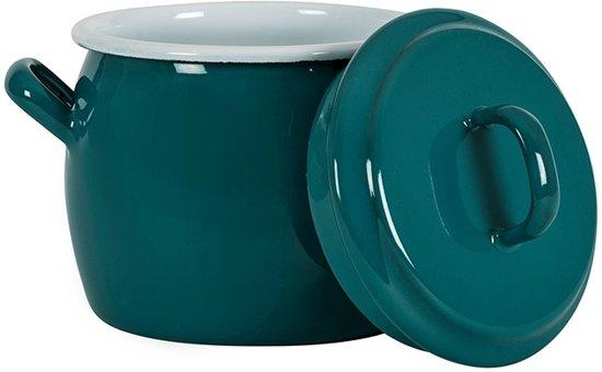 Kookpan met deksel Blauw, 0,7 L -Kockums