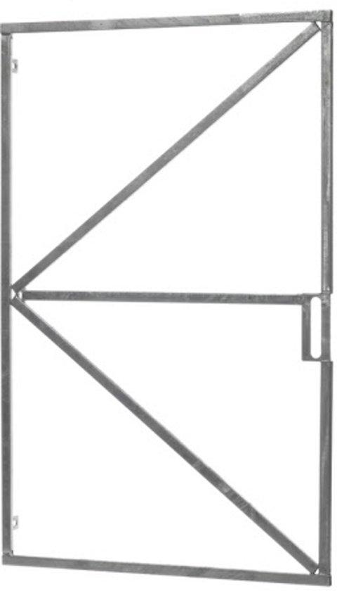 Intergard Poortframe voor tuinpoort 90x155cm verstelbaar met slotkast