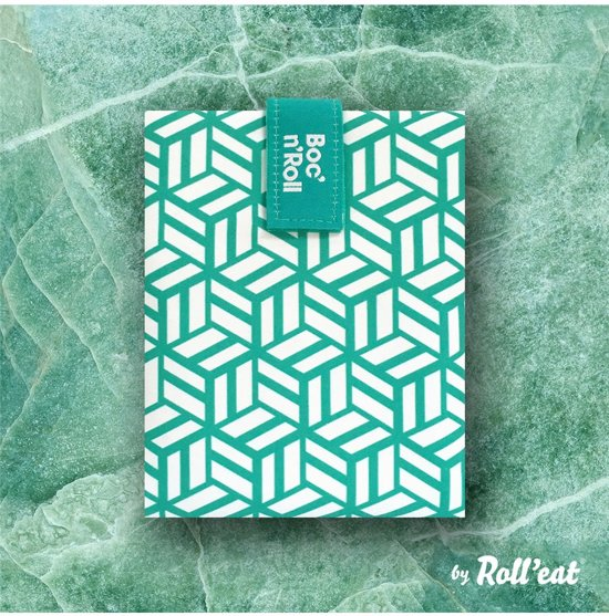 Roll'Eat Boc'n'Roll Foodwrap - Tiles Green