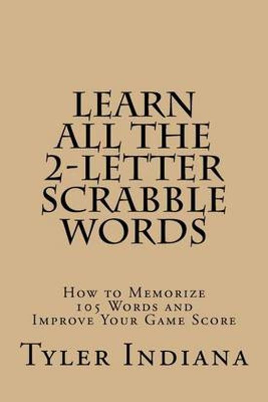 Bol Learn All The 2 Letter Scrabble Words 9781518631931