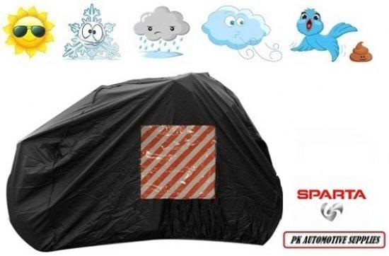 Fietshoes Met Insteekvak Stretch Geschikt Voor Sparta Pick-Up Smart Electric N7 Dames 53cm (400Wh) -Zwart