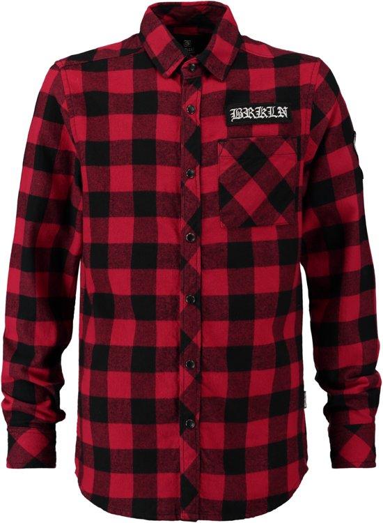 Overhemd Rood Zwart Geblokt.Bol Com Coolcat Blouse Overhemd Hblokwin Helder Rood 158 164