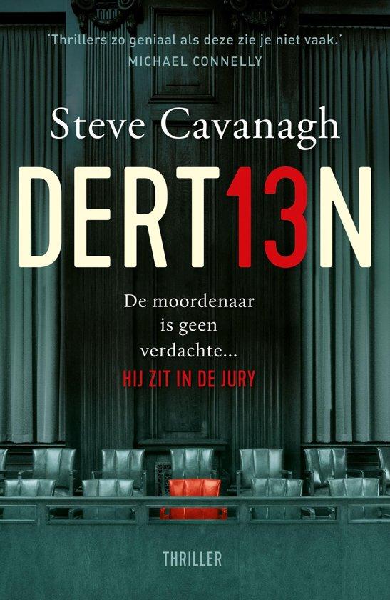 Boek cover Dertien van Steve Cavanagh (Onbekend)