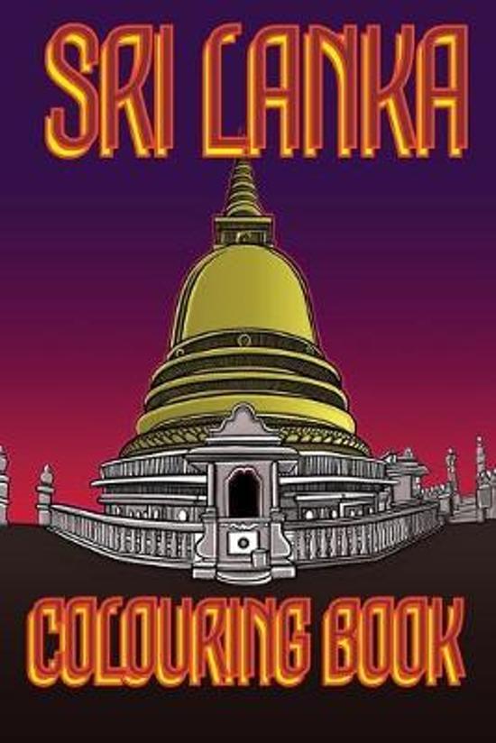 Sri Lanka Colouring Book: Temple UK Edition