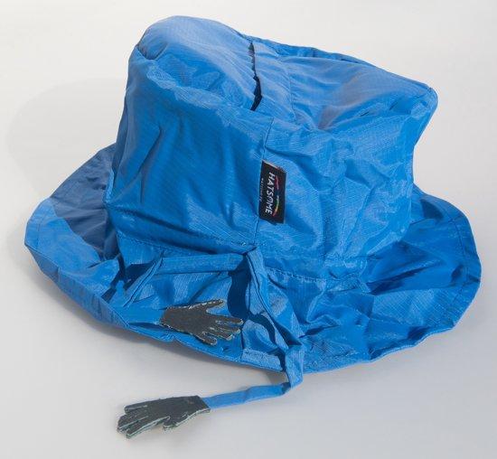 Hatsome regenhoedje lichtblauw