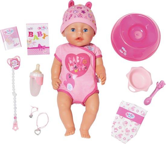 Afbeelding van BABY born® - Interactieve Babypop - Soft Touch Meisje - 43cm speelgoed