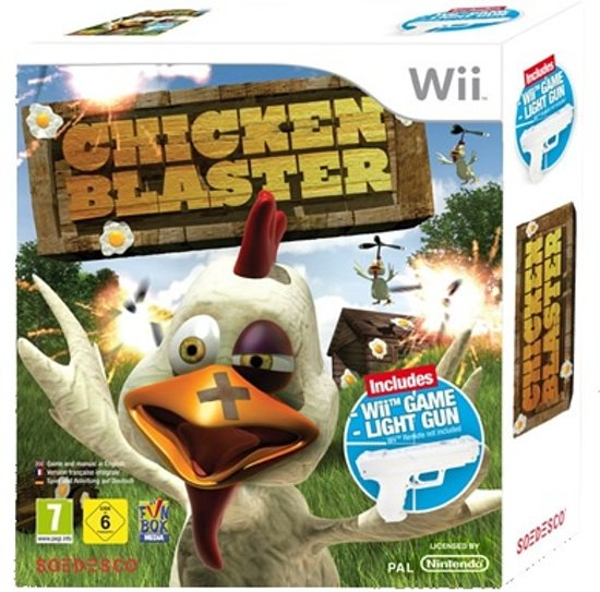 Chicken Blaster + 1 Light Gun kopen