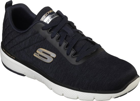 Jection 3 0 Black Advantage Heren Flex Skechers Navy Sneakers 1wqIEx