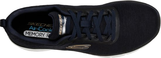 Jection 0 Navy Black 3 Skechers Flex Heren Advantage Sneakers qxnBBP