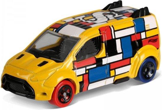 15b0eea6298322 bol.com | Hot Wheels Art-cars Auto Ford Transit Connect 7 Cm Geel ...