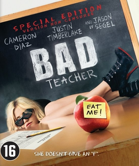 DVD cover van Bad Teacher (S.E.) (Blu-ray)