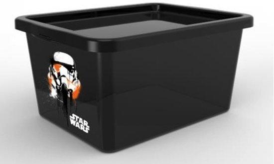 Star Wars Darth Vader Opbergbox -Incl. Deksel - Kunststof - 18 l - Zwart