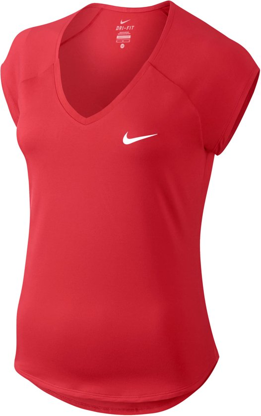 5ba750b248e bol.com | Nike Pure Tennis Top Dames Sporttop - Maat M - Vrouwen ...