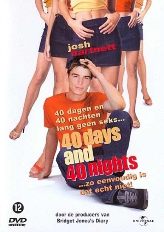 Cover van de film '40 Days And 40 Nights'