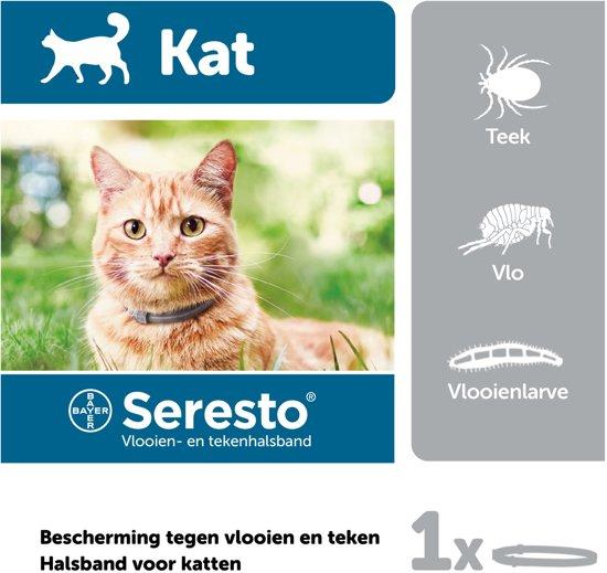 Seresto Vlooien En Tekenband - Kat