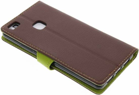 Conception Feuille Brune Cas Booktype Tpu Pour Samsung Galaxy S3 / Neo sQ6r774txw
