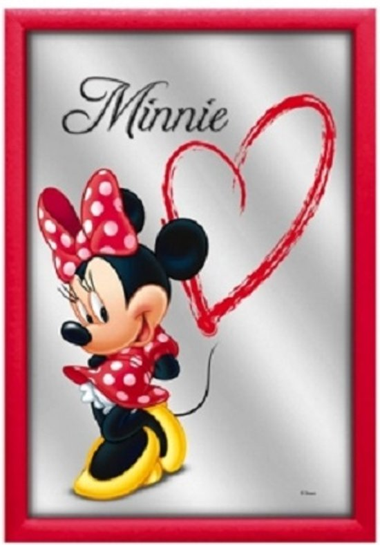 Mickey Mouse Spiegel.Spiegel Minnie Mouse