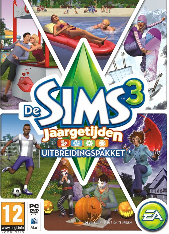 De Sims 3: Jaargetijden - Windows
