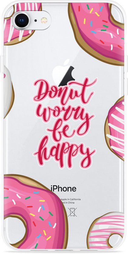 iPhone 8 Hoesje Donut Worry