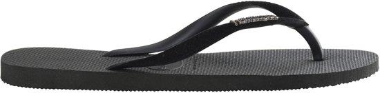 Havaianas Slim Velvet Dames Slippers - Black