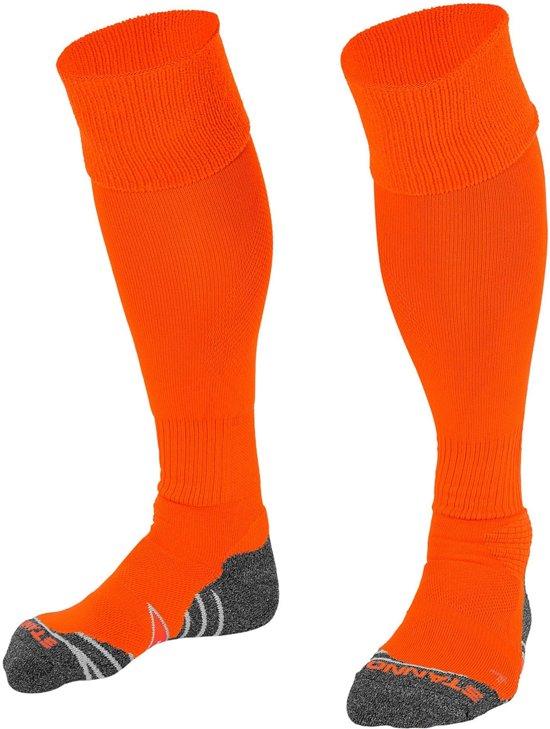 Stanno Uni Voetbal Sokken Sportsokken - Maat 45-48 - Unisex - rood/oranje