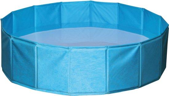 Kerbl Hondenzwembad - 80x80x20 cm - Blauw - S