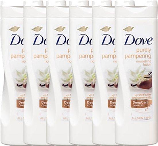 Dove Bodylotion Purely Pampering Sheabutter Vanille - 6 x 250ml - Voordeelverpakking