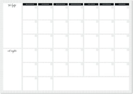Weekplanner + Kaart