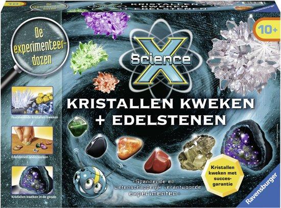 Ravensburger ScienceX® Kristallen kweken en edelstenen
