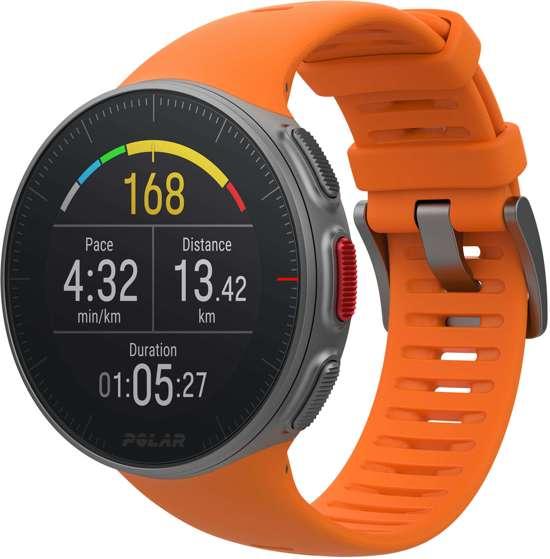 Polar Vantage V - Multisporthorloge - GPS - Oranje