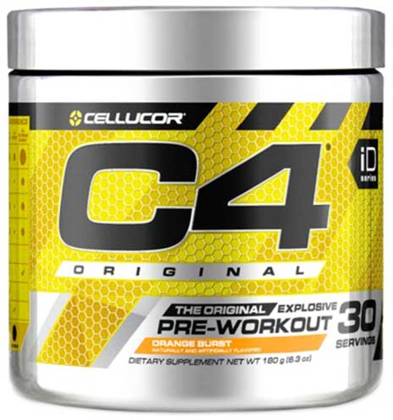 C4 Original 30servings Orange