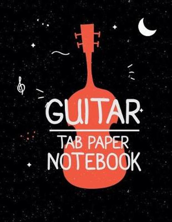 Guitar Tab Paper Notebook
