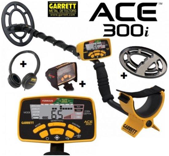 Metaaldetector Garrett Ace 300i