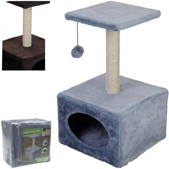 Katten Speeltoren / Krabpaal met Speelbal