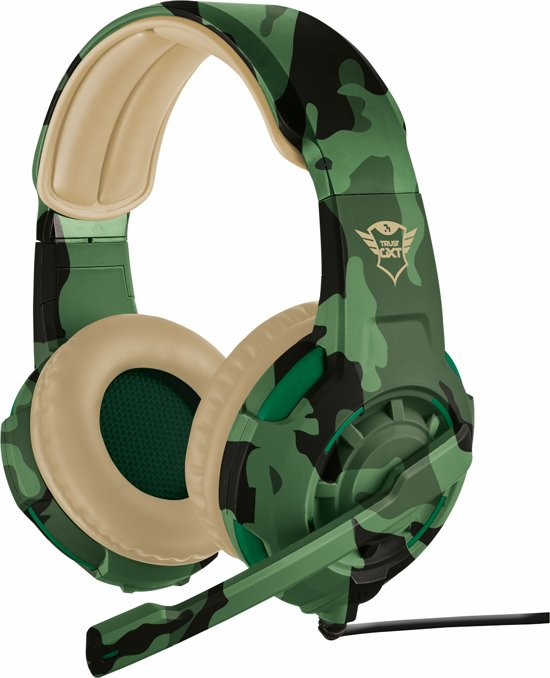 GXT 310 Radius - On-ear Gaming Headset (PC + PS4 + Xbox One) - Jungle Camouflage
