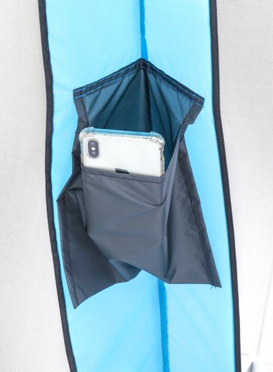 Deryan Bedtent - 200x90 - Blue 1mm gaas klamboe