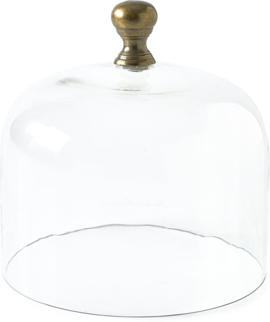 Riviera Maison Classic Cloche - M - stolp - glas