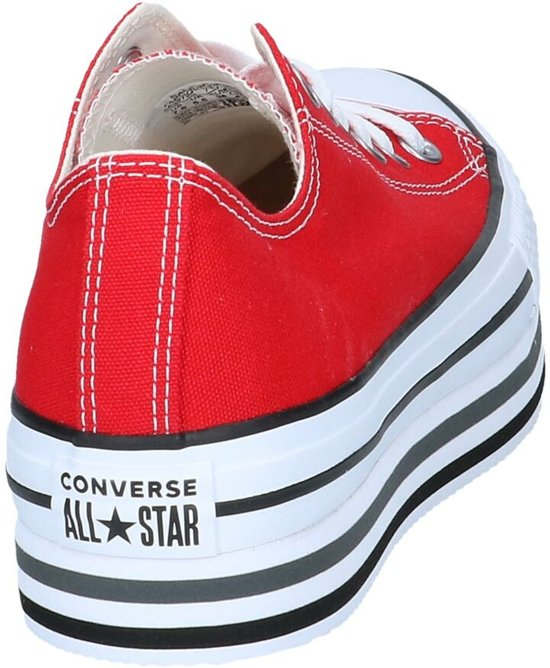 Sneakers Rode Converse Chuck Platform All Taylor Layer Star 4ZzqU