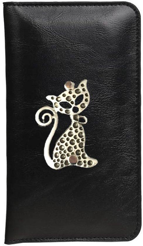 1cbf74602c8 bol.com   Mystiek Kat Zwart universeel portemonnee voor Smartphone