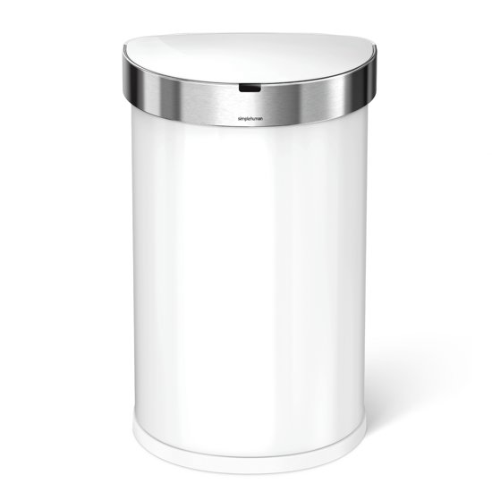 Simplehuman Semi-round Sensor Liner Pocket 45 Liter Wit