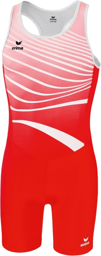 Erima Atletiek Sprintpak - Shorts  - rood - 2XL