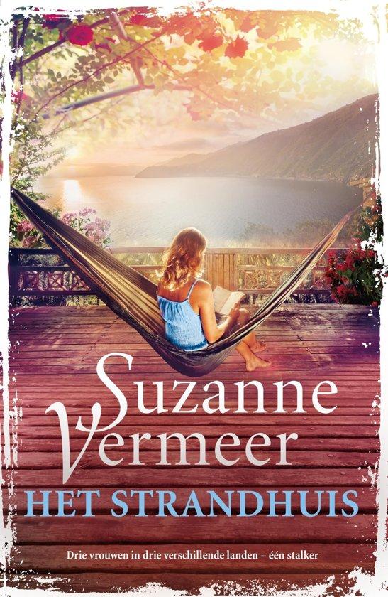 Boek cover Het strandhuis van Suzanne Vermeer (Onbekend)