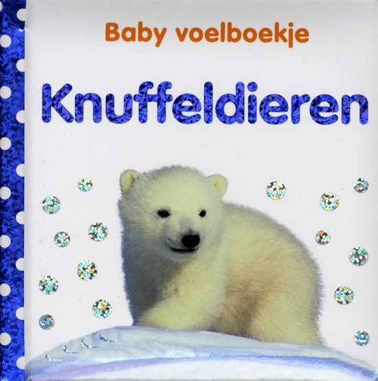 Baby voelboekje Knuffeldieren